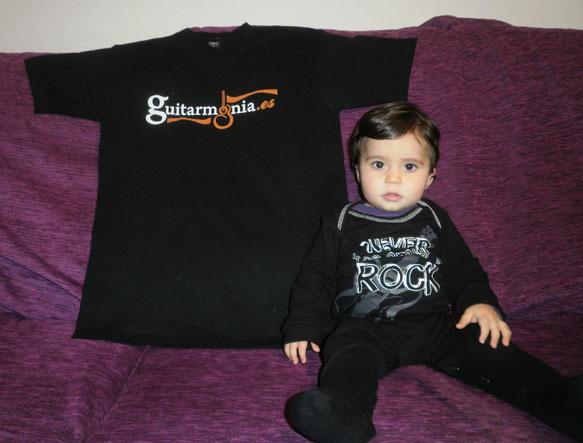Lucía Gonzalo Martín - La fan más joven de guitarmonia